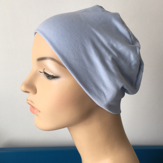 Blue Sleep Cap - side view