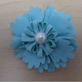 Small Flower - Light Blue-0