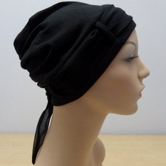 Plain Black scarf only