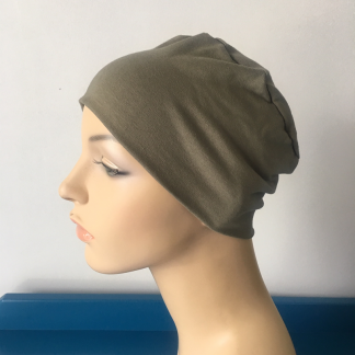 Herb Sleep Cap - side view