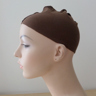 Chocolate brown wig liner
