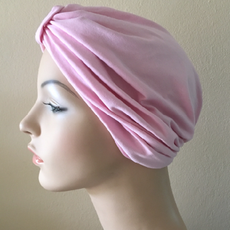 Marshmallow Classic Turban - side view