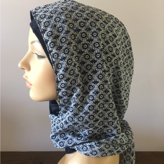 Headzee and Hood Combo - back tie - side view