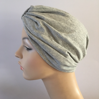 Light Grey Classic Turban