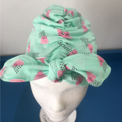 Mihla hat - Watermelon - bow front