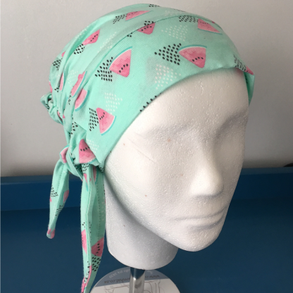 Mihla hat - Watermelon - bow side