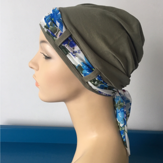 Herb Turban with Summer Floral scarf