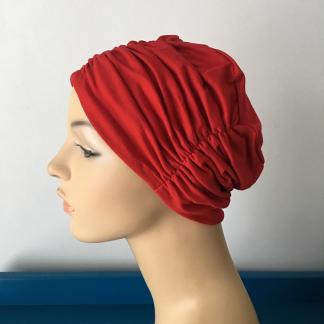 Pleated Beanie cancer hat chemo headwear