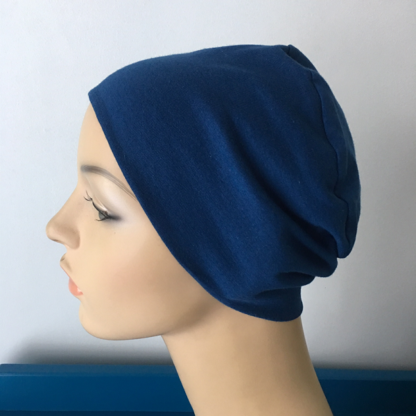 Indigo Sleep Cap